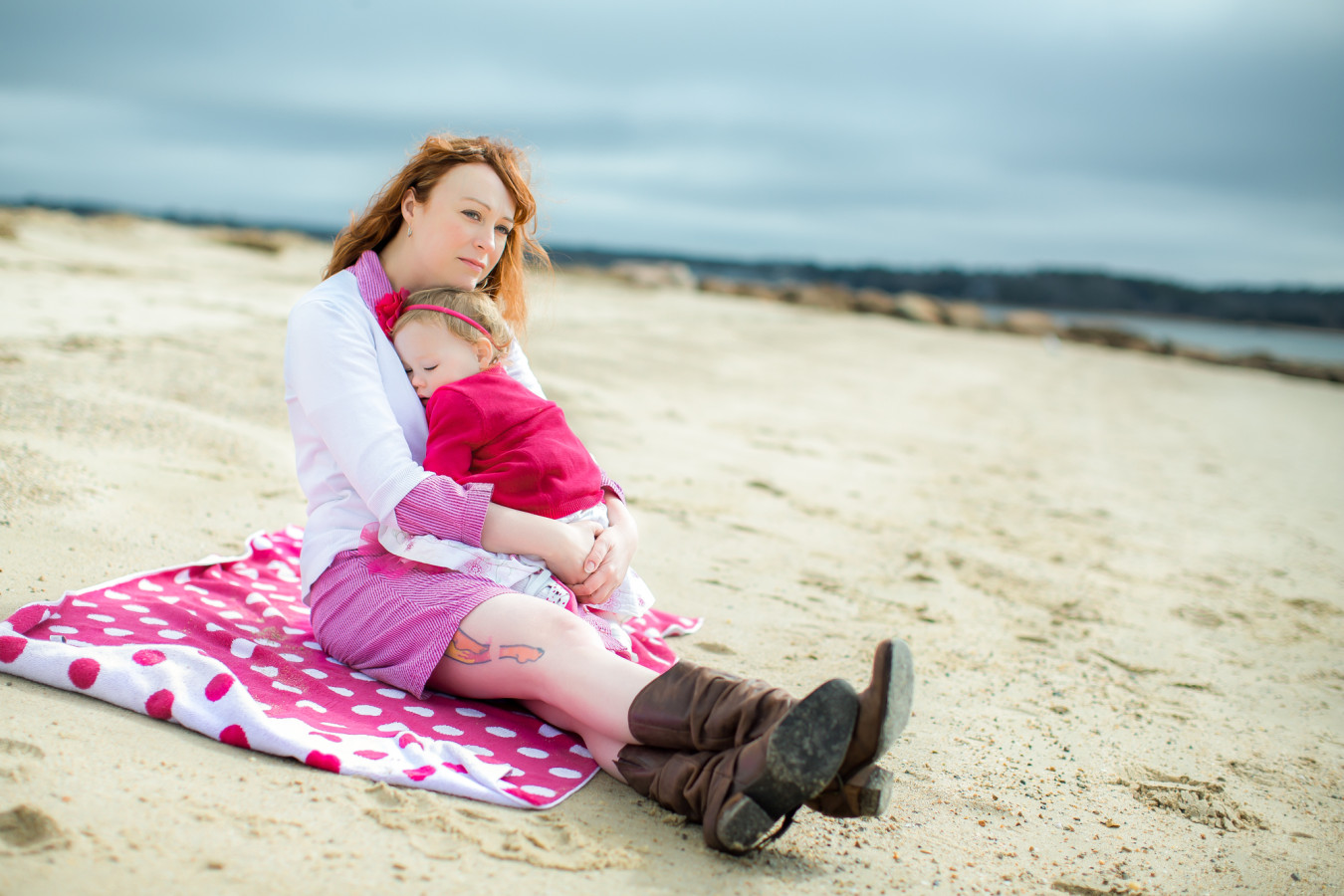Family beach photography in New England